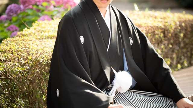 新郎紋付袴1点