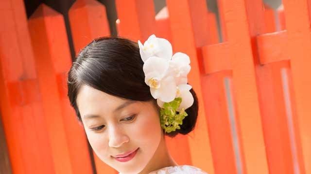 ヘッドパーツ(造花)無料レンタル