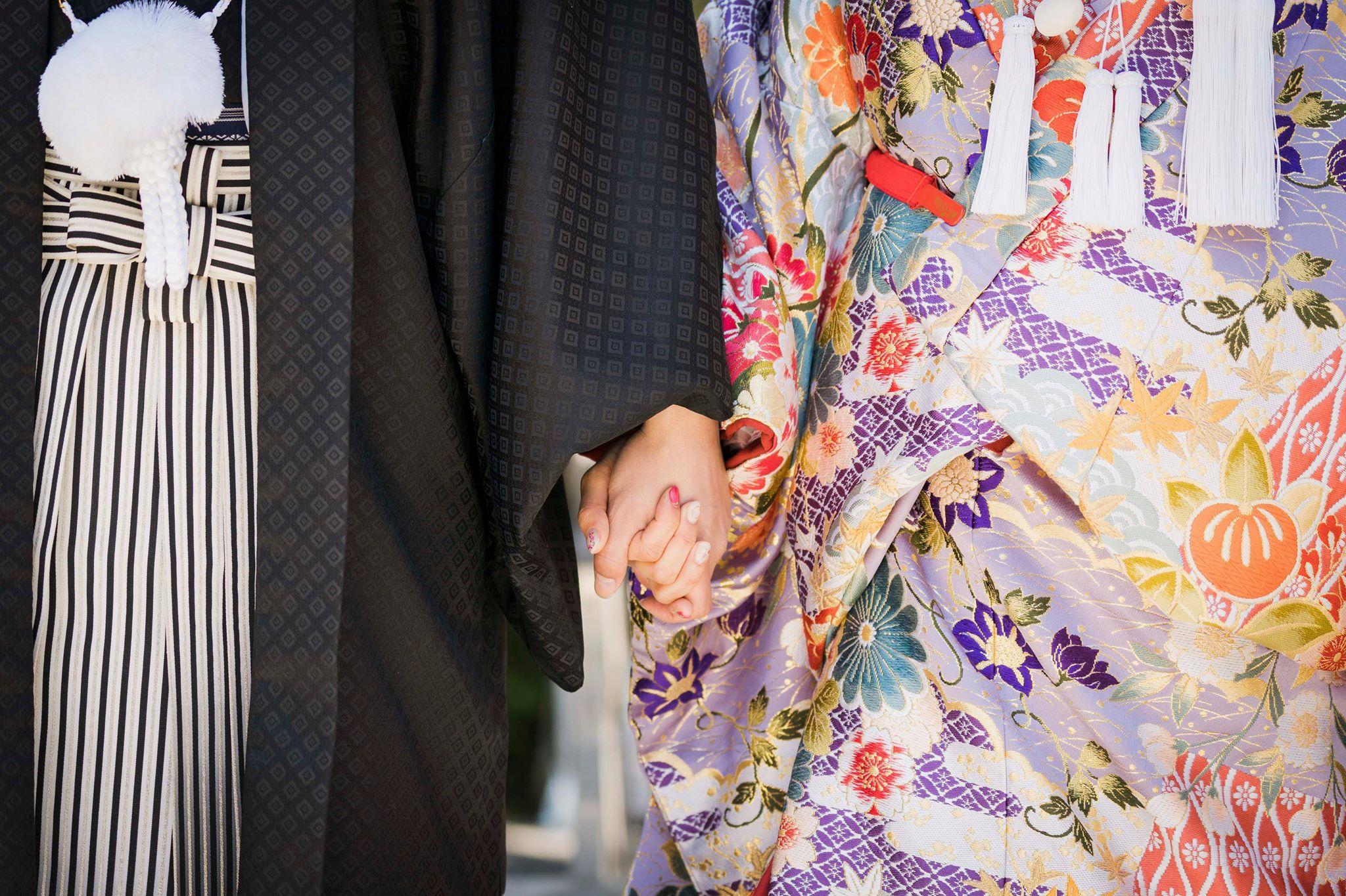 奈良・桜井市にあるパワースポット 大神神社にて結婚式 写真