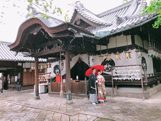 令和元年初 薬園八幡神社で結婚式 2019.5.1 写真