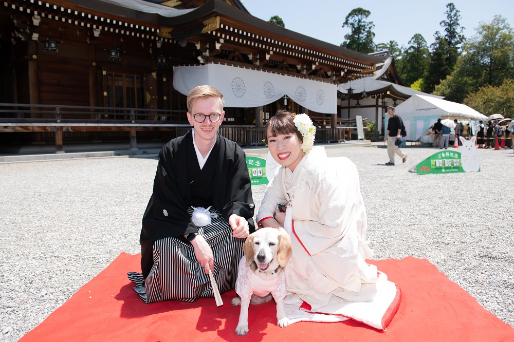 大神神社結婚式&ご会食のお手伝い 2019.5.4 写真
