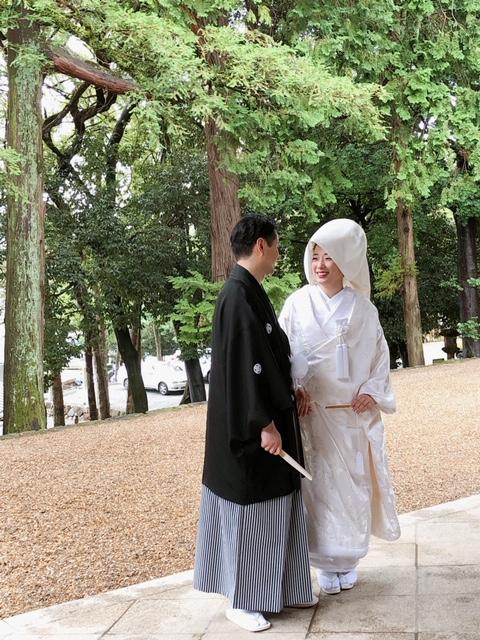 世界遺産 春日大社 結婚式 2019.7.14 写真