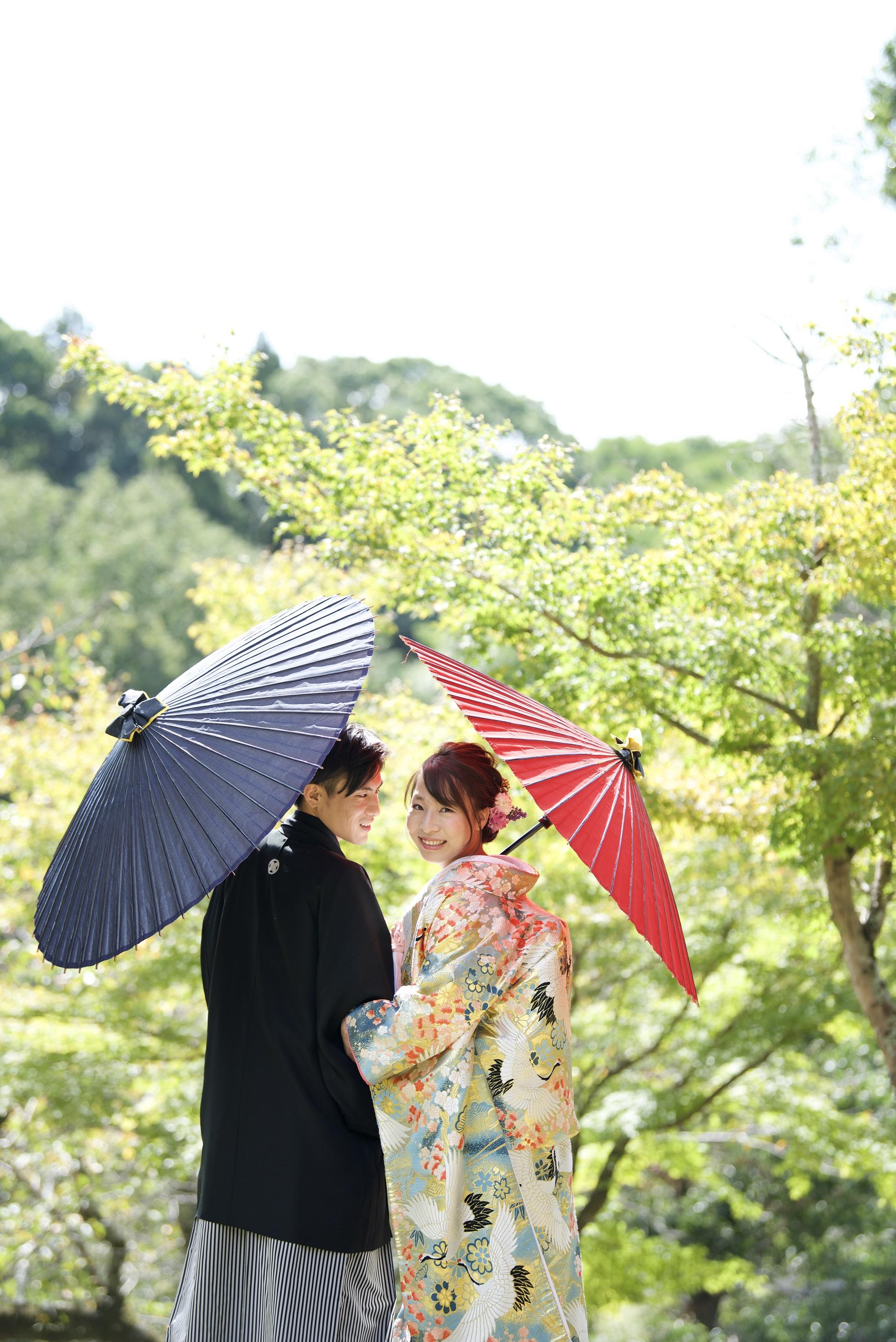 和装ロケーションフォト 浮見堂 2019.10.6 写真