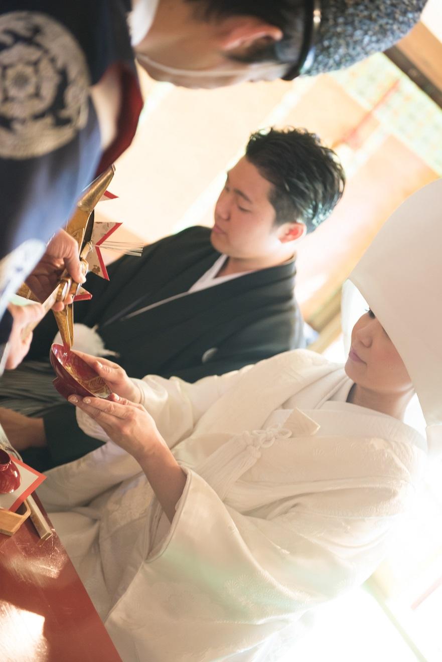 奈良町・御霊神社で結婚式 2019.10.23 写真