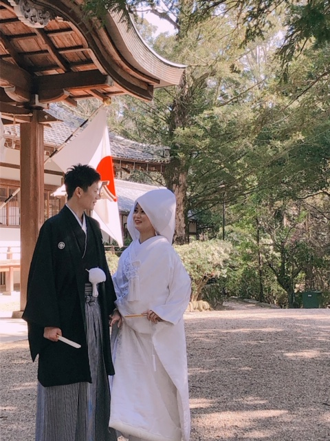 世界遺産・春日大社で結婚式 2020.3.20 写真