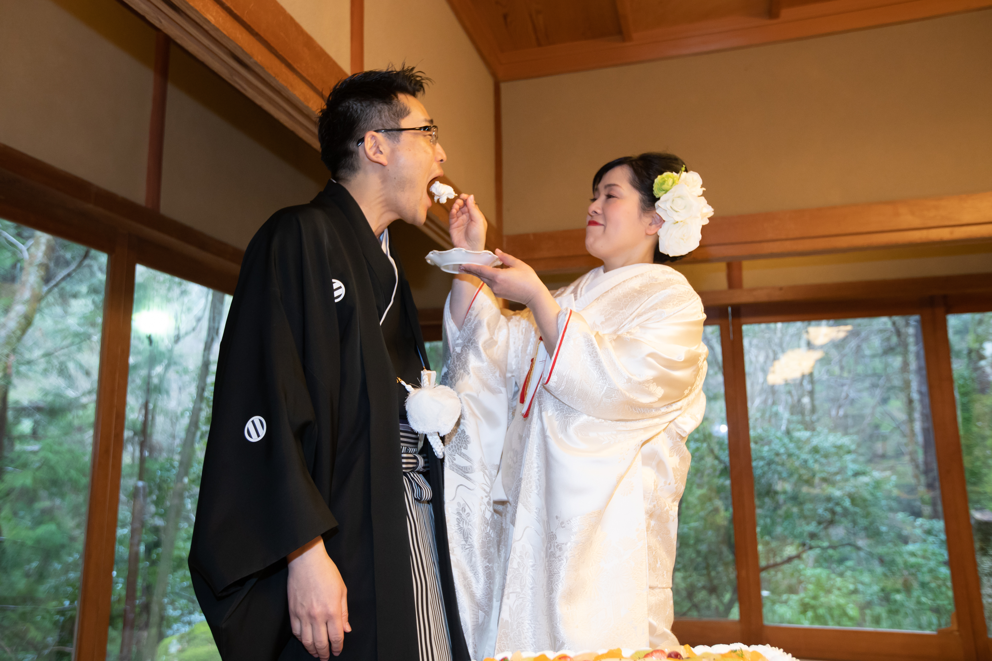 ハートフルであったか〜い結婚式  in 月日亭 写真