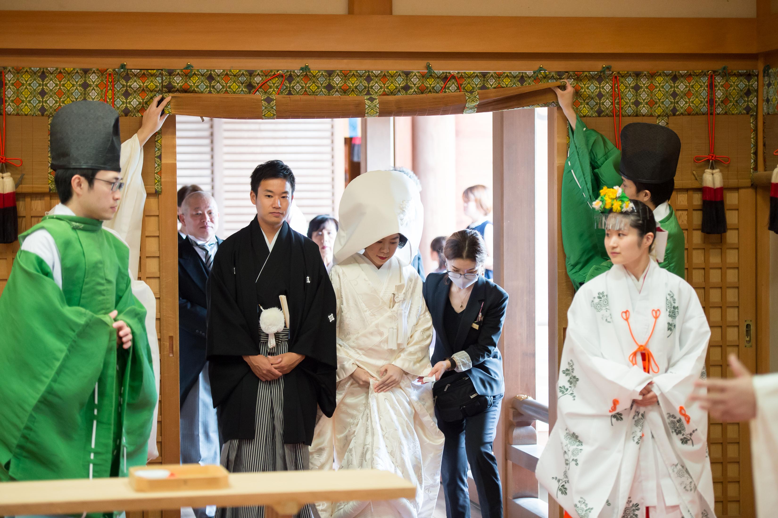 念願の結婚式 大神神社で賑やかな少人数の親族婚♪ 写真