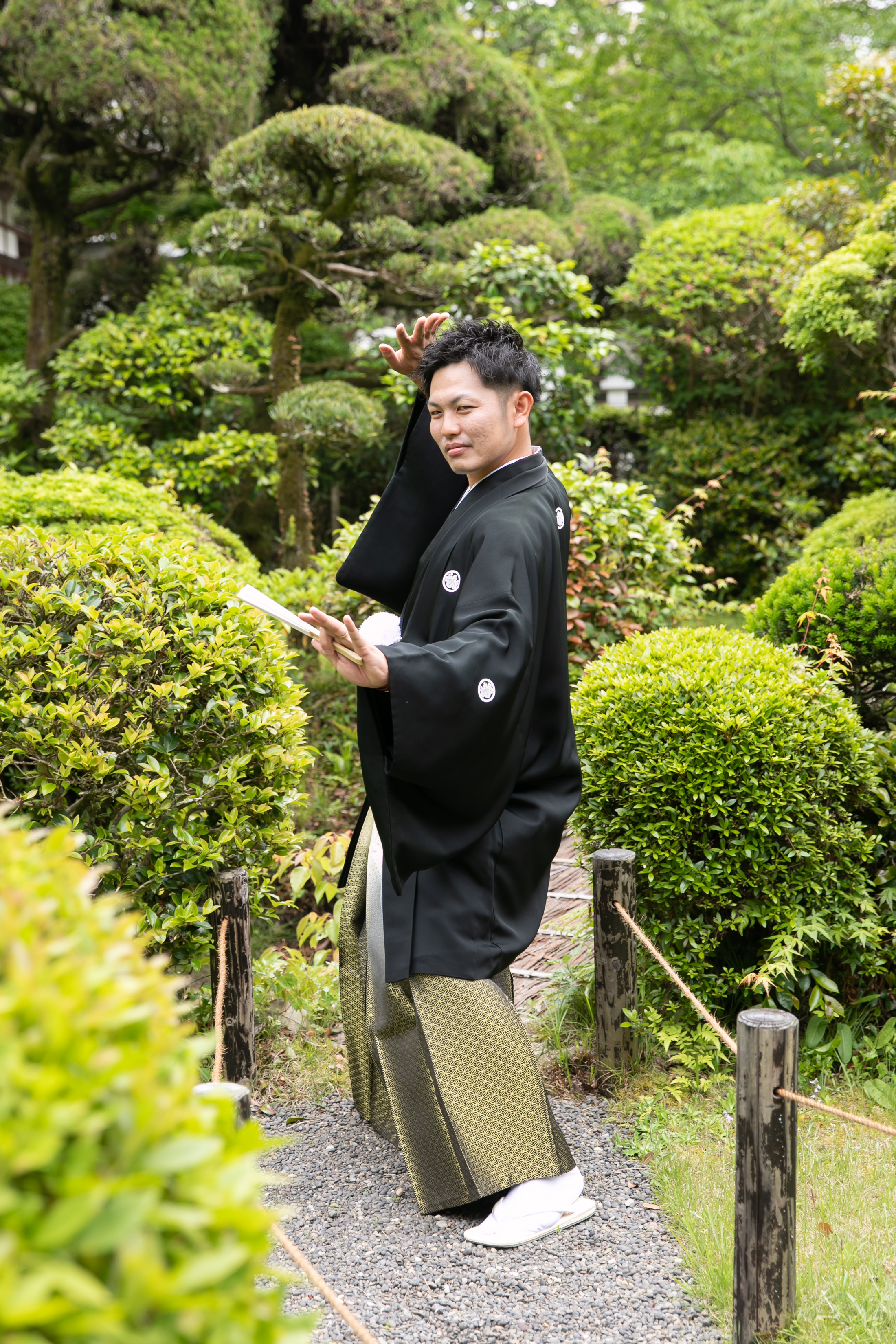 日本髪に角隠しのトラディショナルスタイル 写真