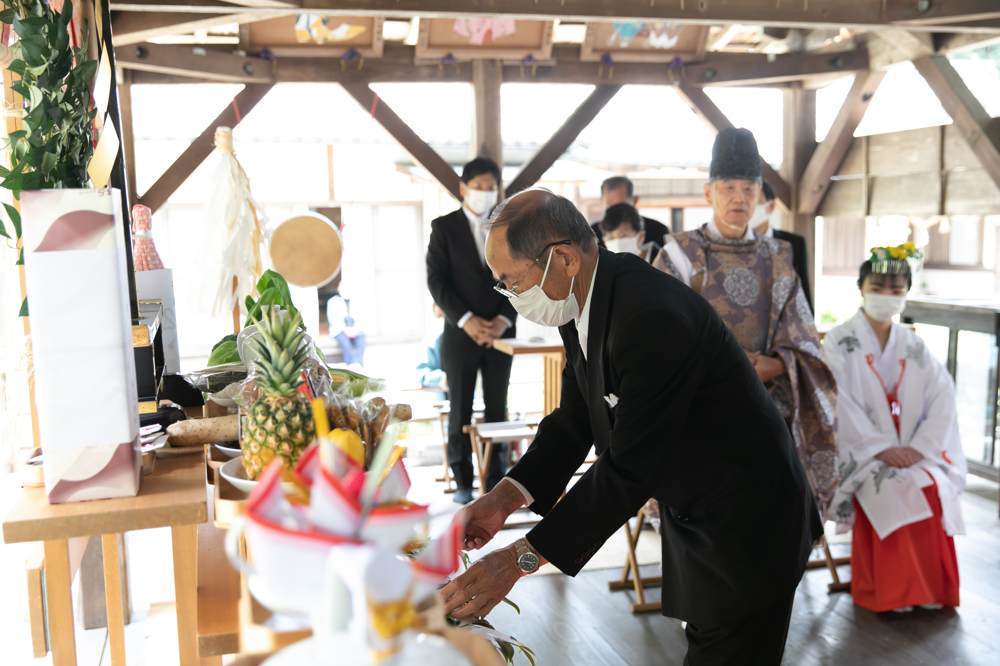 登彌神社 【とみじんじゃ】挙式 奈良市 写真